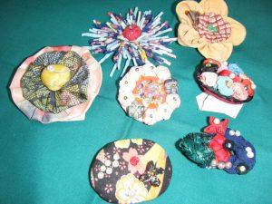 古布を使った飾り物つくり体験