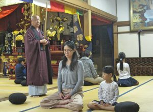 坐禅体験 常楽寺