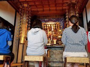 法話と唱題行体験 妙延寺