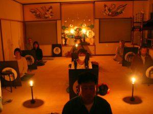満月瞑想会 宝寿院