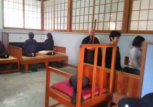 坐禅体験 海善寺
